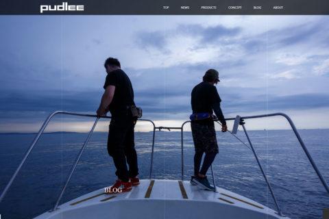 pudlee webサイト イメージ