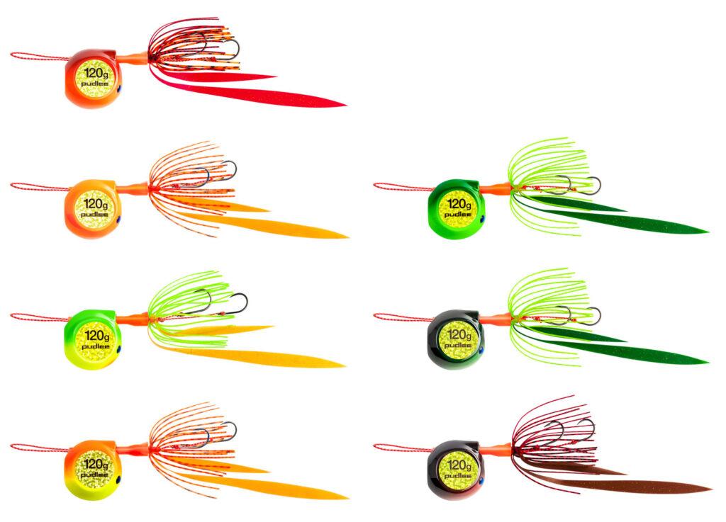 タイラバJET フラットサイド カラーバリエーション 7色